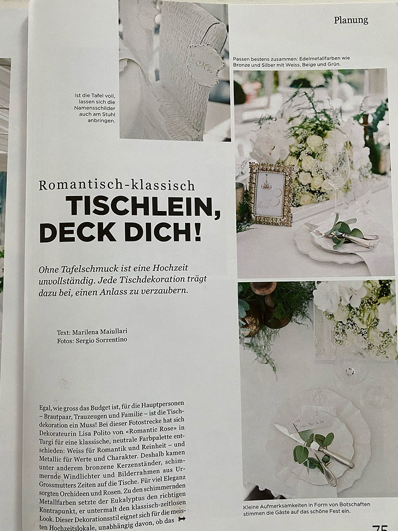 Romantic Rose Publikationen